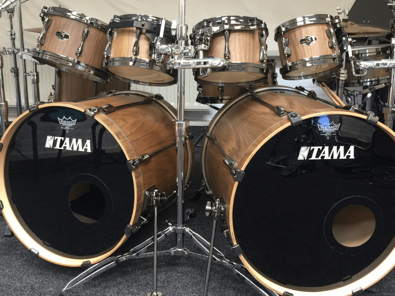 Tama Birch Superstar Walnut BESC