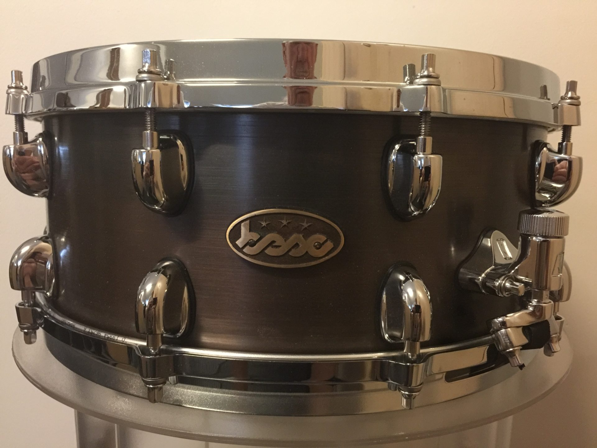 Bronze snare 14x6 Brown-Black welded BESC