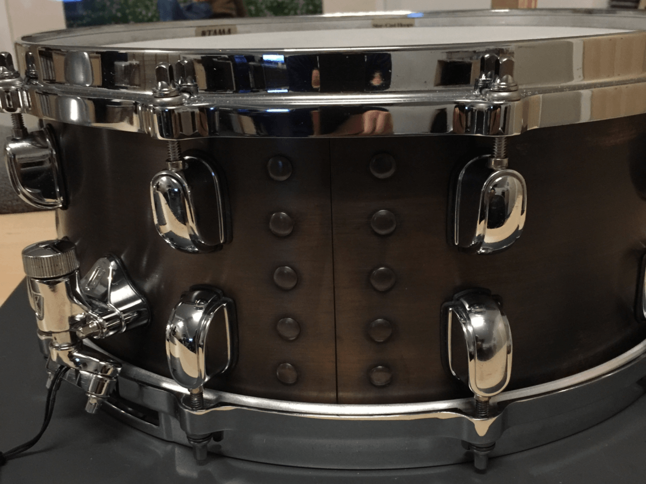 Brown Black Bronze Snare BESC