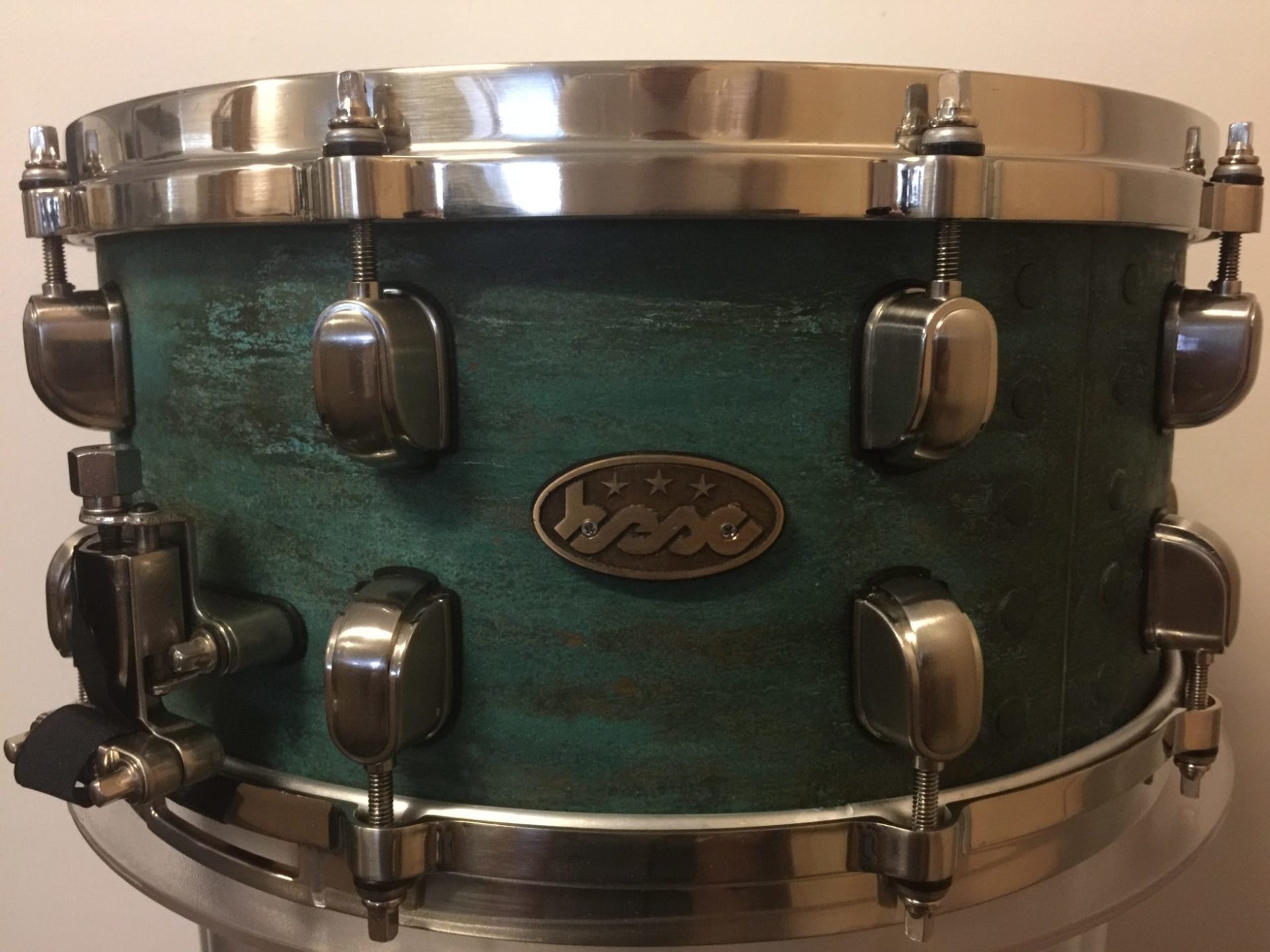 Copper snare Blue Green BESC