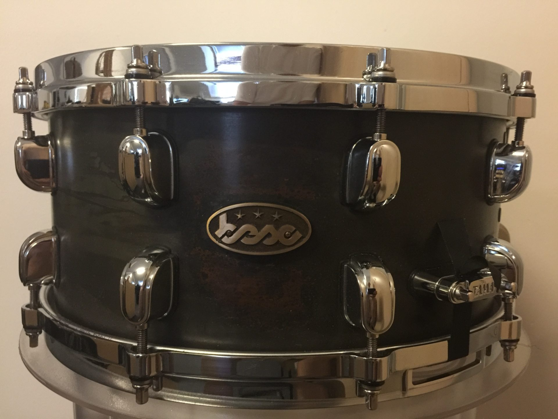 Copper snare 14x6,5 Brown-Black BESC