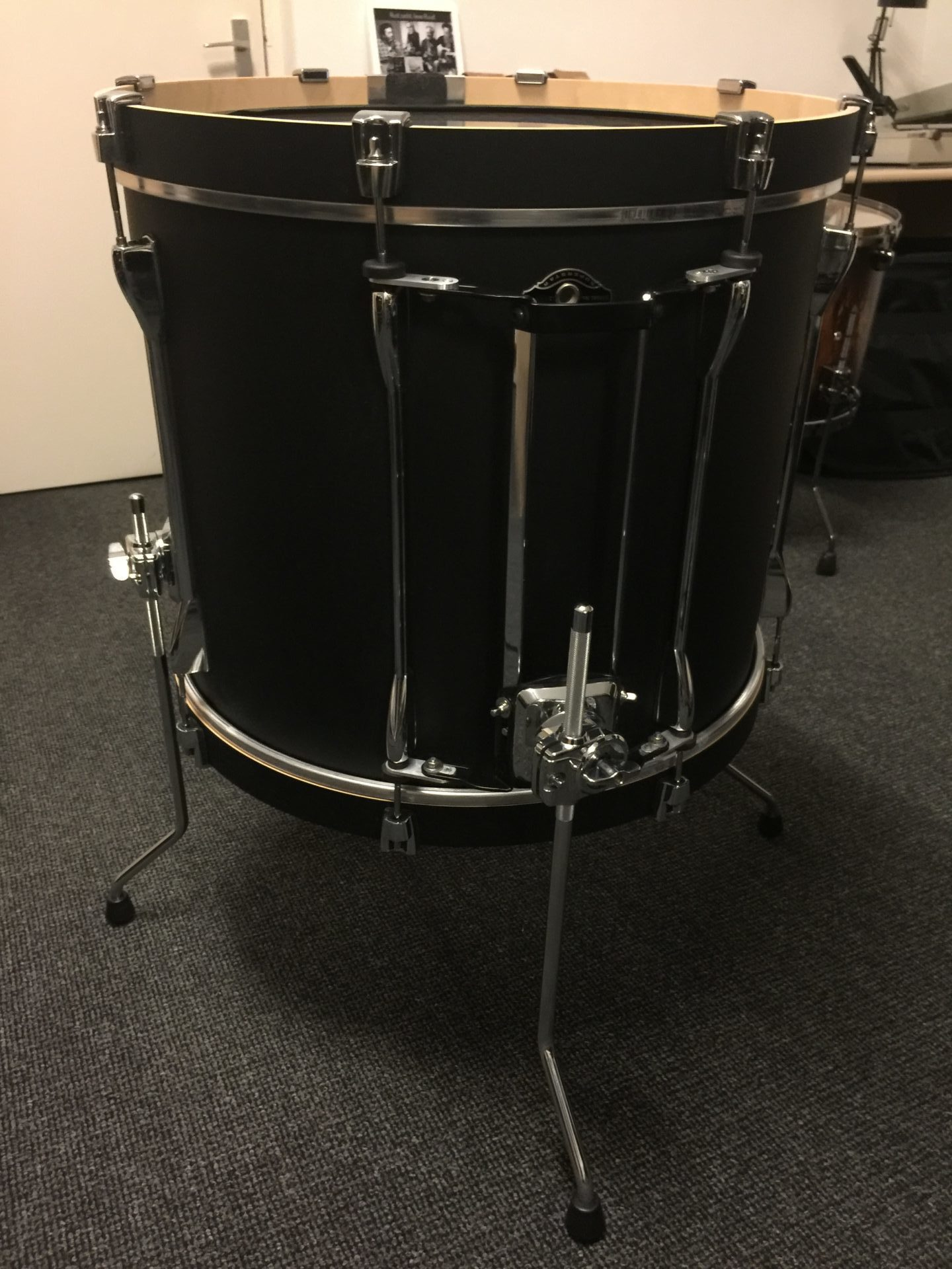 Tama Bass Drum Converted to Floor Tom
