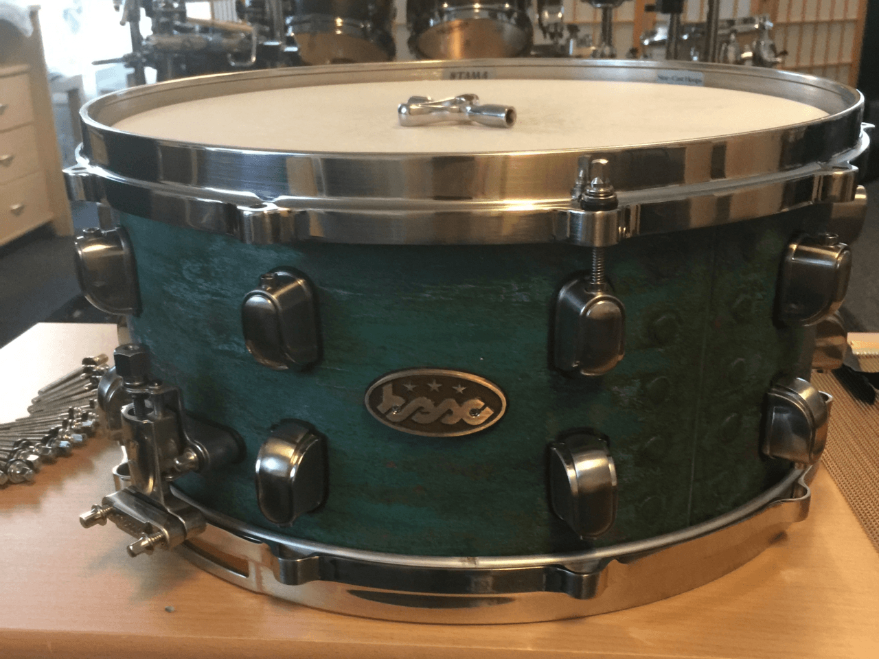 Light Blue Copper Snare BESC-01